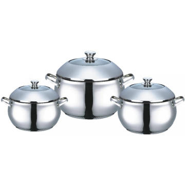 Stainless Steel Apple Shape Casserole With Dome Lid