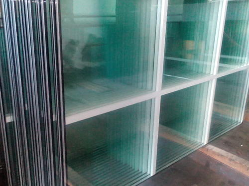 Insulated Glass With Internal Parting Bead