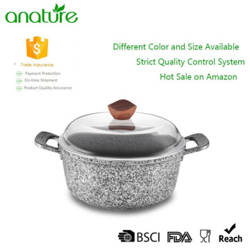 Granite Nonstick Coating Cooking Sauce Pot Cookware