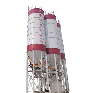 Mini 200ton bolted fly ash storage cement silo