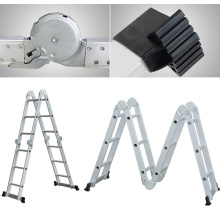 aluminum folding ladder rubber feet