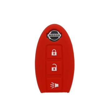 Nissan 3 buttons car key protect case