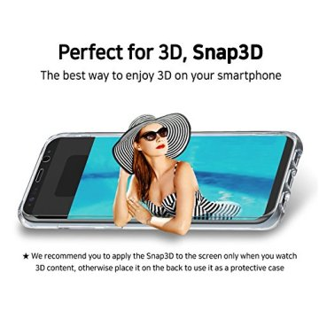 android Snap3D VR Glasses case for Galaxy Note8+