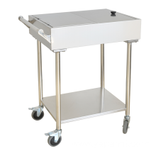 Stainless Steel Saucing Trolley