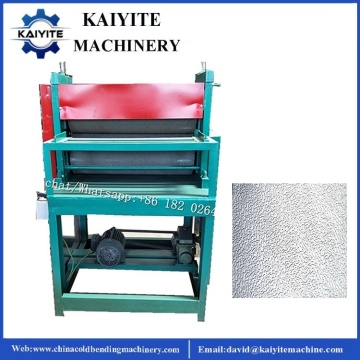 Steel Checker Plate Embossing Machine