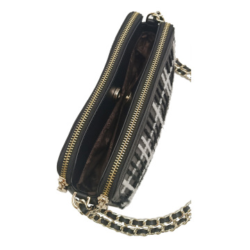 Young Women Crossbody Cell Phone Clutch Bag
