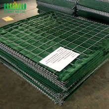 Hesco Barrier Bastion Welded Gabion Box Wall Factory