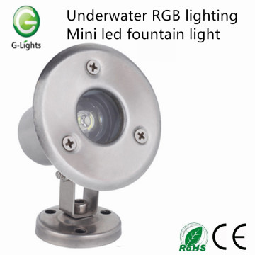 Underwater RGB lighting mini led fountain light