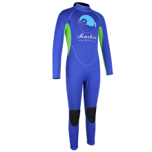 Seaskin Blue1.5mm full wetsuit diving
