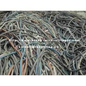 Machine Stripping Wire For Recycling