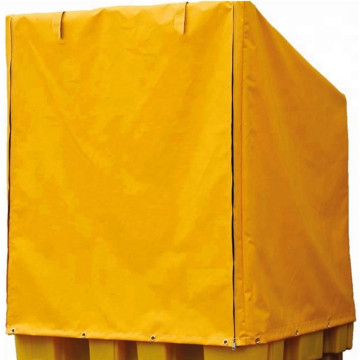 Waterproof PVC coated zipper pallet cover