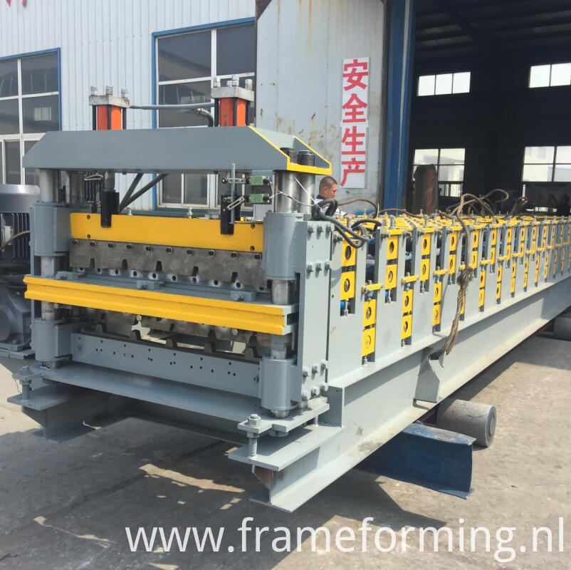 double layer roofing tile making machine 3