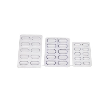Capsules PVC Clear Tray Blister Packaging for Pill
