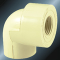 DINPN16 Water Supply Upvc Female Thread Elbow 90°