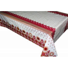 Elegant Tablecloth with Non woven backing Texture
