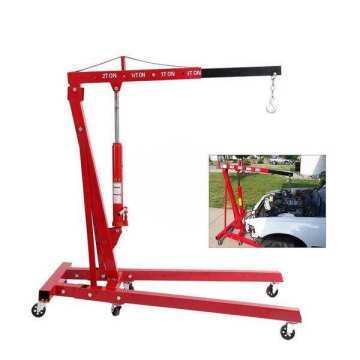 2Ton small mobile crane Portable Shop Crane