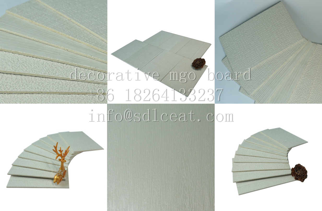 mgo decorative boards-