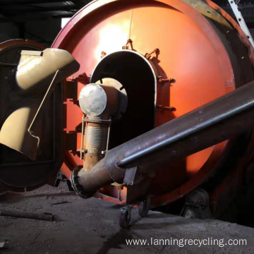 Lanning pyrolysis from tyre to fuel machines