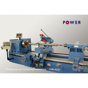 Light Scale Rubber Roller Stripping Machine
