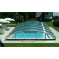 Telescopic Enclosures Polycarbonate Swimming Pool Covers