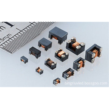 SMD common mode line filter inductor