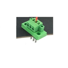 3pin contact through wall soldering points terminal block