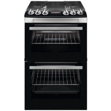 Zanussi Gas Double Oven Freestanding Cooker