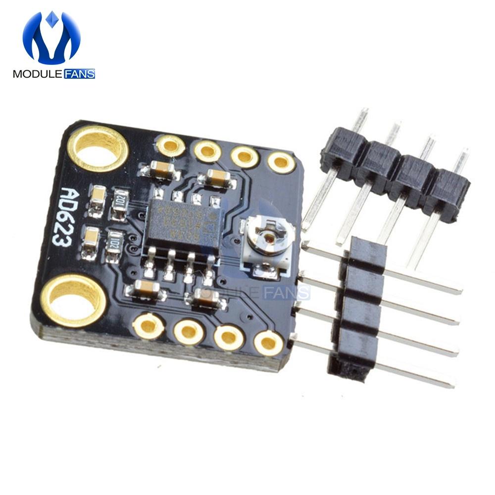 AD623 Programmable Gain Instrumentation Amplifier CMRR Max 200Hz Digital DC Instrument Amplifier Board Module