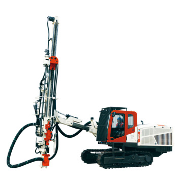 Top-hammer drill rig originated from Sandvik