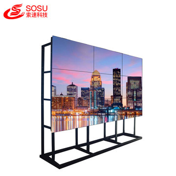 LCD DID video wall hd sem costura