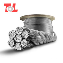 7X7 PVC Coated Stainless Steel Wire Rope