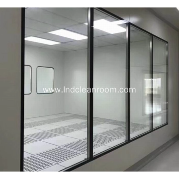 Hollow glass windows are used in the laboratory