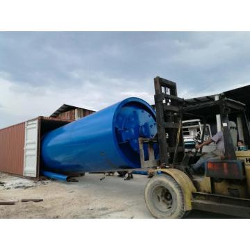latest tire scrap pyrolysis machine