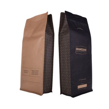Compostable Carbon pack hot stamp bags stamping coffee bags