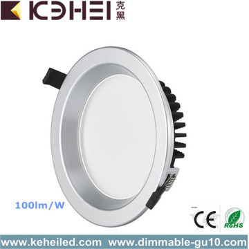 High Efficiency 100lm / w 6'' led downlight