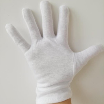 White Cotton Hand Gloves