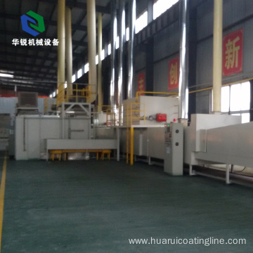 Hot Selling Customized Automatic Teflon Non-stick Coating System Line