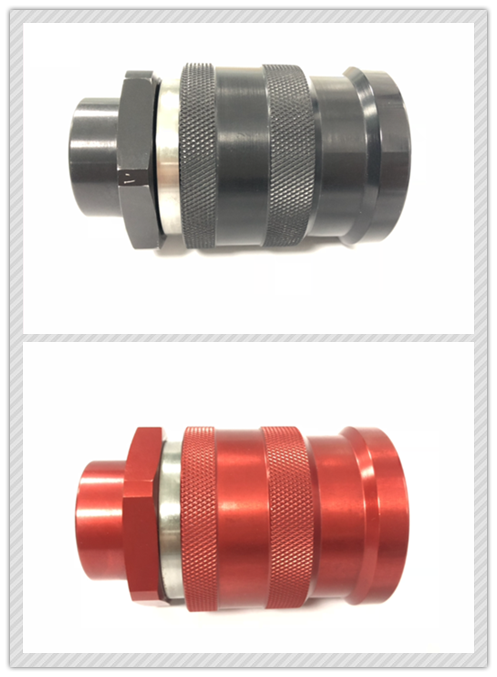 Red FF0B Female ISO16028 Quick Coupling