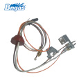 Gas ignition systems flame pilot burner