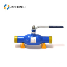 Gas valve pn40 with handle metal pipeline ball valve