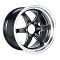 Aluminium Alloy Truck Wheel Black Milled Spoke