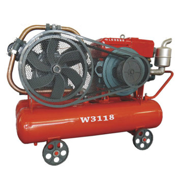Diesel Portable Piston Air Compressor with Sifang engine