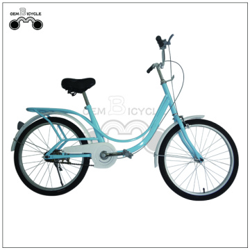 20 Inch Single Speed Girl's City Bicycle