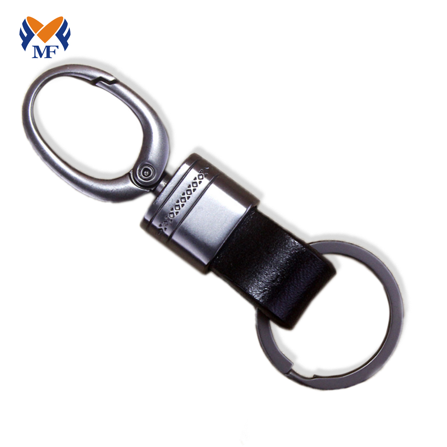 Leather Hook Keychain