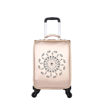 Nylon fabric soft 3 pcs set leisure luggage