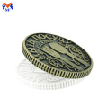 Custom made metal alloy coins