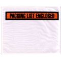 Printed  Top Loading packing list envelope
