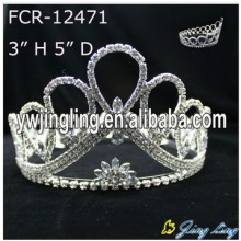 Cheap Full Round Pageant Crowns For Sale