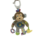 Plush Monkey Hammock Toy