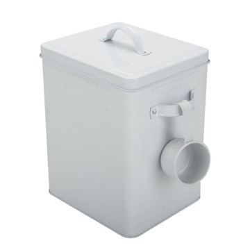 Laundry Detergent Powder Storage Tin Box